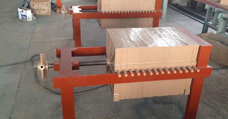 Tinytech - Oil Mill Filter Press